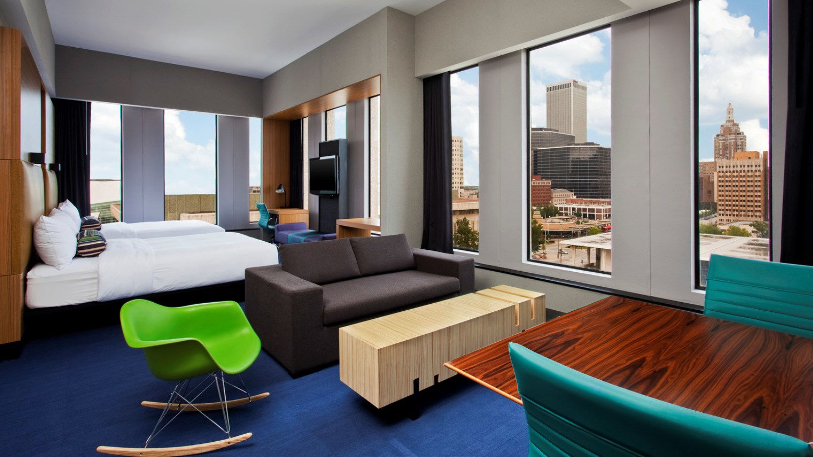 Tulsa Accommodations - Aloft Suite