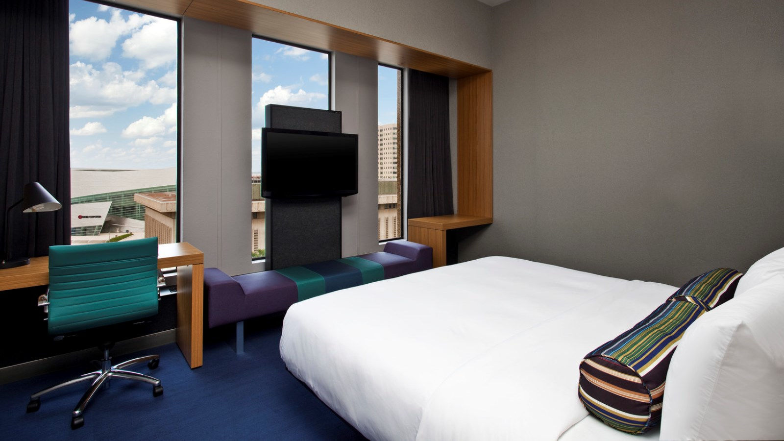 Tulsa Accommodations - Aloft King Room